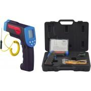 HOLDPEAK 880CK Infravörös hőmérsékletmérő külső mérőszondával -30C+1200C C és F kijelzés.