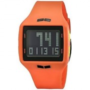 Vestal Helm Surf & Train Low Frequency Collection Stylish Watch - Salmon/Black / One Size Fits All