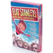 Flat Stanley's Worldwide Adventures #1-4 by Jeff Brown
