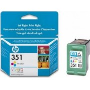 Cartus HP 351 Tri-color Inkjet Print Cartridge