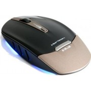 Mouse E-Blue Horizon Wireless Optic 1750DPI Gold USB