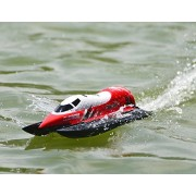 Fmt Store Claymore Formula 1 F1 Race Boat 25km/H Auto Roll Back 2.4 G Brushed Rc Racing Boat V795 2 Flip Proof (Assorted Color)