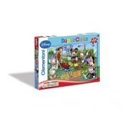 Clementoni Puzzle 27827 - La Casa di Topolino: Farm Adventure - 104 pezzi