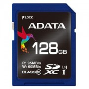 Card memorie SDXC ADATA Premier Pro 128GB UHS-I U3 Class 10