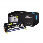 Toner Lexmark Original X560H2YG Yellow   X560