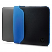 HP 14.0 Blk/Blue Chroma Sleeve