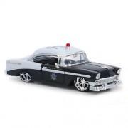Jada / JadaToys 1/24 die cast model minicar / 1956 Chevrolet Bel Air high speed police patrol car (japan import)