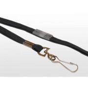 Black Break Away Lanyard With Metal Hook 10mm Wide