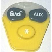 Pad cauciuc telecomanda Viper cu 3 butoane
