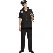 Costum carnaval barbati politist