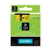 Dymo D1 Label Cassette 9mm x7m (SD40918) - Black on Yellow