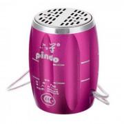 PINDO M6 bicicletas Mini Speaker w / TF? radio de FM - rosa oscuro