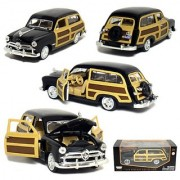 1/24 Scale 1949 Ford Woody Wagon Black.