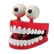 Jabber Jaws Toy Novelty Wind Up Chattering Teeth