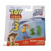 Toy Story 3 Buddy Packs - Waving Woody and Green Army Men