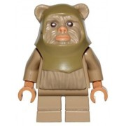 Lego Star Wars Minifigur Ewok Warrior out of 10236 (sw508)
