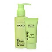 ORGANIC ACNE LOTION (1oz) 30ml & ORGANIC SWEET GEL CLEANSER (Combination Skin) (4oz) 120ml VALUE PACK