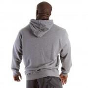 Gorilla Wear Classic Hooded Top Grey Melange - S