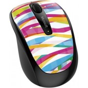Mouse Microsoft Wireless BlueTrack Mobile 3500 (Bansage Stripe)