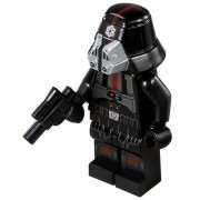 Lego Star Wars Black Sith Trooper Minifigure (2013)