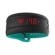 Mio Fuse Aqua Heart Rate Activity Tracker - Blue/Black