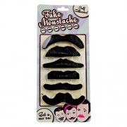 """Fake Moustaches - Black"""
