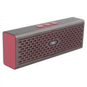 Boxa portabila 'Vintage' 6W, Bluetooth, Rosu/Aluminiu, TnB