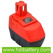 Batería herramienta inalámbrica 15.6V 3Ah Hilti SF151-A, SFB150, SFB155, SFH151-A NimH.