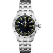 Titan Quartz Black Round Men Watch 9446SM02J