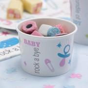 Tiny Feet Paper Treat Tubs