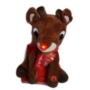 Rudolph the Red Nosed Reindeer 14 Musical Light Up & Motion Plush 2015