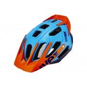 UVEX quatro pro Helm blue-orange mat 56-61 cm Mountainbike Helme