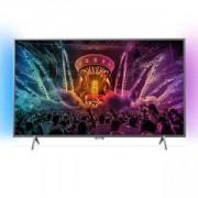 Телевизор Philips 49 инча UHD TV, DVB-T2/C/S, Android, Ambilight 2, Pixel Precise/49PUS6401/12