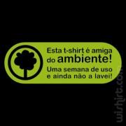 T-shirt Amiga do Ambiente
