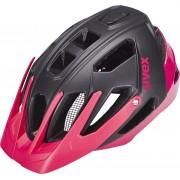 UVEX quatro - Casco Mujer - rosa/negro 52-57 cm Cascos de trekking / urbanos