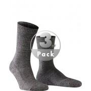 Falke Herren Socken Socken Schurwoll-Mix anthrazit grau