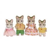 Sylvanian Families dolls Stripe Cat Family