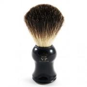 100% BORSUK, pędzel do golenia z uchwytem, BLACK, Schramm