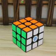 Ganspuzzle GAN356 Air Maste 3x3x3 Magic Cube Professional Speed Puzzle Cube Brain Teasers Game Black With a Cube Tripod and cube bag Ganspuzzle gan356 aire maste 3x3x3 cubo mágico Puzzle Cubo rompecabezas juego profesional de velocidad con un cubo y cubo