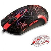 Redragon M701 Lavawolf 3500 DPI Optical Gaming Mouse for PC 7 Programmable Buttons Omron Micro Switches (Black)