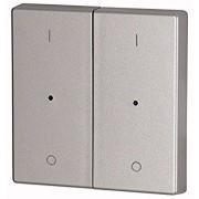 Capac Buton LED dublu - Argintiu I/O CWIZ-02/13-LED EATON