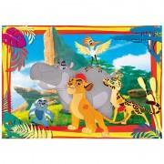 Clementoni - puzzle lion guard - 104 pz