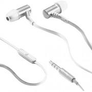 Casti Audio cu Microfon Stereo In Ear Alb Celly