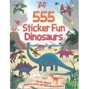 555 Sticker Fun Dinosaurs by Oakley Graham