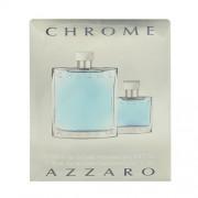 Azzaro Chrome 200Ml Edt 200Ml + 30Ml Edt Per Uomo (Eau De Toilette)