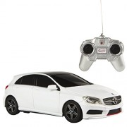 Rastar - Mercedes-Benz A-Class, coche teledirigido, escala 1:24, color blanco (ColorBaby 85051)