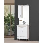 Tboss Bianka 65 alsó szekrény + mosdótál + felsőszekrény