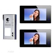 Anykam 607idfeS2 47MB Video Türsprechanlage Videosprechanlage 2 Familienhaus 2Draht