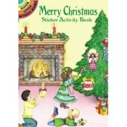 Merry Christmas Sticker Activity Book by Marty Noble