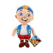 Jake y los Piratas de Nunca Jamás - Peluche Cubby el pirata más joven Calidad super soft 28cm - Jake and the neverland pirates